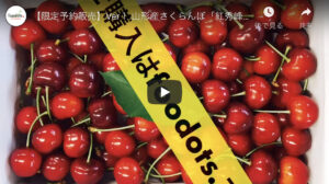 Read more about the article 【限定予約販売】Ver1.山形産さくらんぼ「紅秀峰」の購入はfoodots.【イケメン】