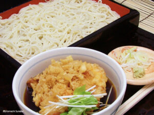 Read more about the article 室町砂場 蕎麦|天ざる・天もり発祥の店、創業明治2年。